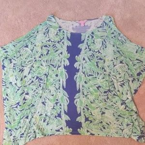Lilly Pulizter caftan shirt